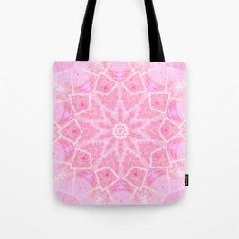 Geometric Bubblegum  Tote Bag