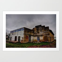 Celina Ice & Cold Storage Art Print