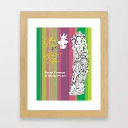 Musical Landscapes and the Goddesses of Music 7 Framed Art Print