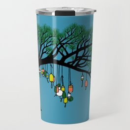 Buoy Tree by Seasons K Designs for Salty Raven Travel Mug
