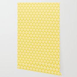 Diamond Pattern 62 Yellow Wallpaper