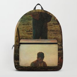 The Angelus Jean Francois Millet Backpack
