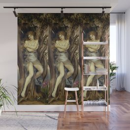 "Evelyn De Morgan ""The Dryad"" Wall Mural"