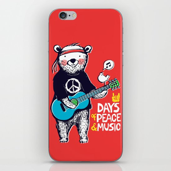 Days Of Peace & Music iPhone & iPod Skin