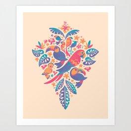 Tropicana II Art Print