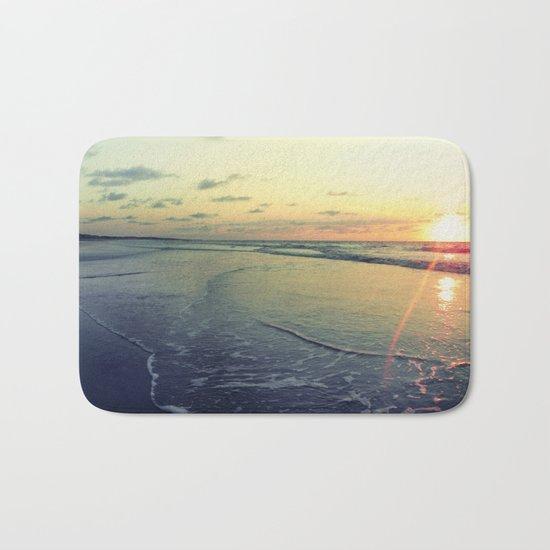 Sunrise on the Beach Bath Mat
