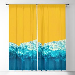 Yellow Tide Blackout Curtain