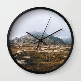 Rams Head V Wall Clock