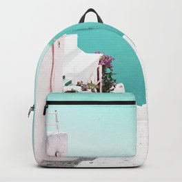 Santorini Sea Backpack