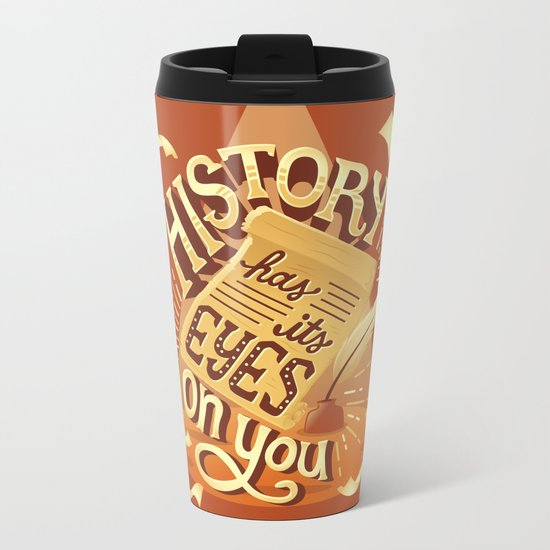 History Metal Travel Mug