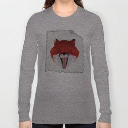 Sleepy Fox Parchment Long Sleeve T-shirt