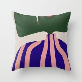Dutch Tulip Modern Still Life Throw Pillow