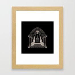 Throne Room Framed Art Print