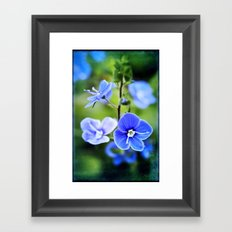 it is spring Framed Art Print