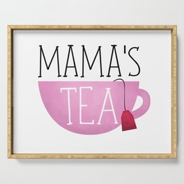 Mama's Tea Serving Tray