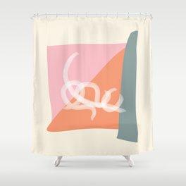 Wabi Sabi String Shower Curtain
