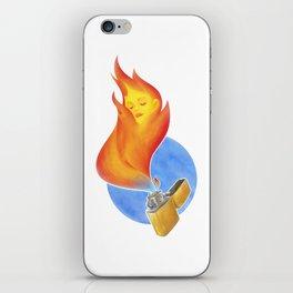 Lighter iPhone Skin