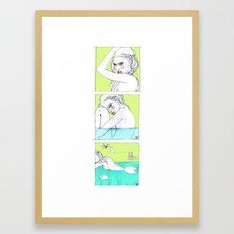 serie Framed Art Print