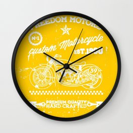 MotoBiKe RiDe 9 Wall Clock