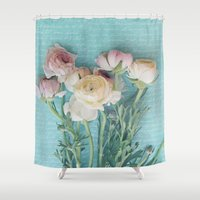 xoxo Shower Curtains featuring XoXo by RDelean