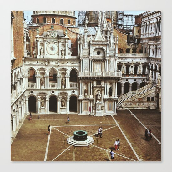 Doge's Palace Courtyard Canvas Print