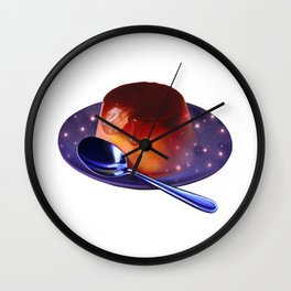 Universe in Pudding Wall Clock
