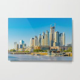 Puerto Madero, Buenos Aires Metal Print
