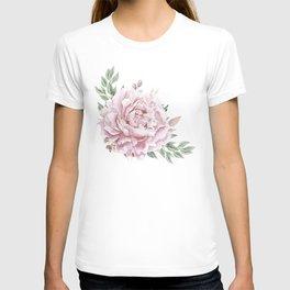 Pink Roses Duet T-shirt