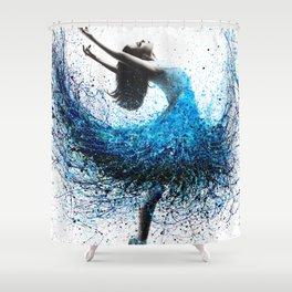 Ocean Mist Dance Shower Curtain