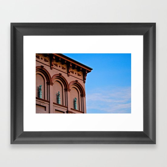 Cherubs on the Ledge Framed Art Print