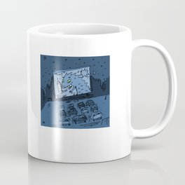Drive In Theater by James Francis Coffee Mug