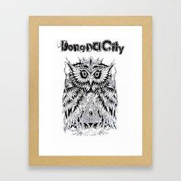 Bong Da City Framed Art Print