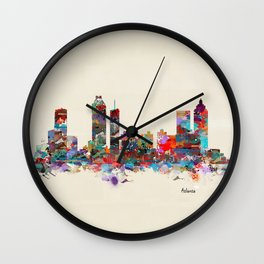 Atlanta Georgia  Wall Clock