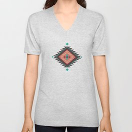 Aztec Summer Unisex V-Neck