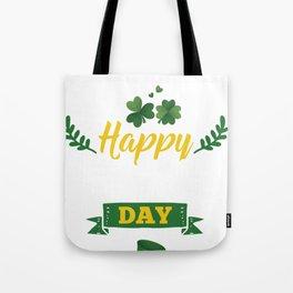 Happy St Patricks Day Leprechaun  Tote Bag