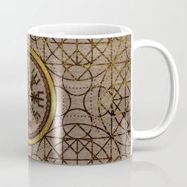 Vegvisir. The Magic Navigation Viking Compass Coffee Mug