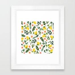 Lemon Grove Framed Art Print
