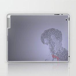 Matt Smith typography. Laptop & iPad Skin