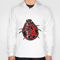 ladybug Hoodies featuring Ladybug by Knot Your World