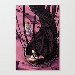 Planet's Teeth Canvas Print