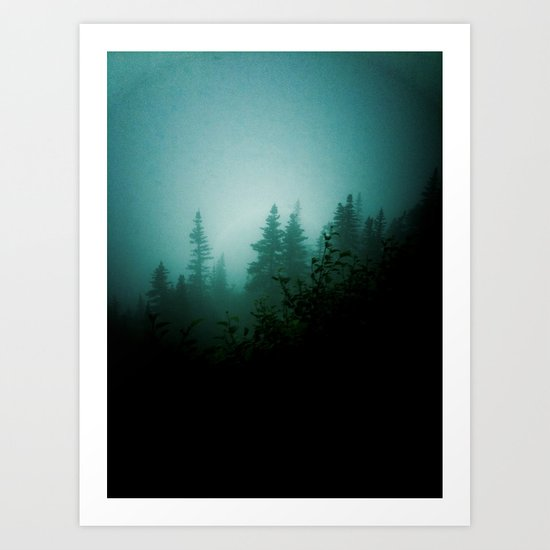 Dark as Night Art Print