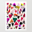 Triangle pattern by georgianaparaschiv