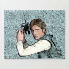 Han Solo StarWars Movie Poster Print Canvas Print