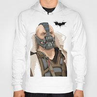 bane Hoodies featuring Bane by Thomas Moore