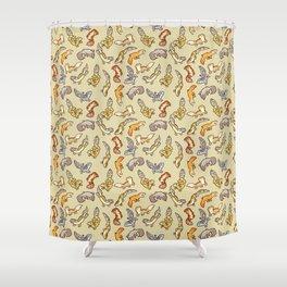 Geckos Shower Curtain