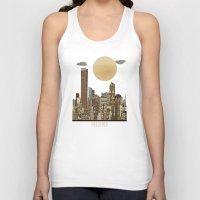miami Tank Tops featuring miami city  by bri.buckley
