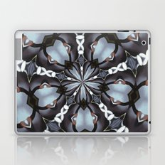Shades Of Blue Kaleidoscope Laptop & iPad Skin