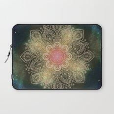 Galaxy Dust Mandala Laptop Sleeve