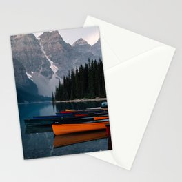 Canoes & Mountains Stationery Cards