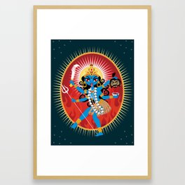 Kali Ma Framed Art Print